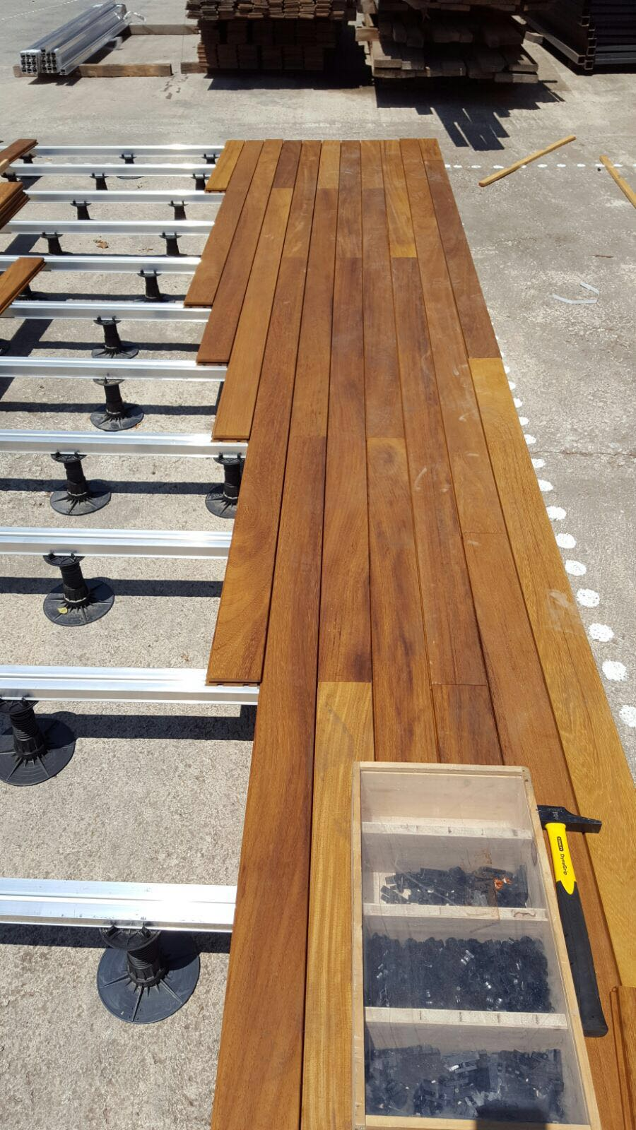 Exterpark Hardwood Decking Exterior Decking